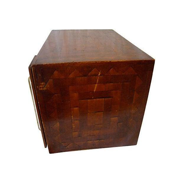Monogrammed Wood Inlay Box - Image 3 of 5