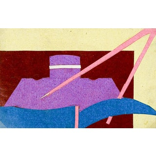 Small Robert DuPerrier Abstract Collage For Sale