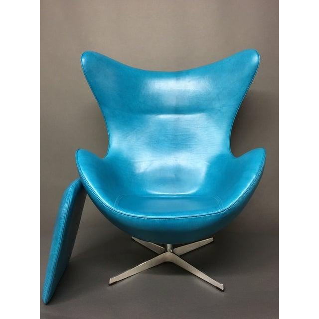 Fritz Hansen Arne Jacobsen Egg Chair For Sale In Chicago - Image 6 of 7
