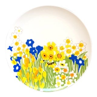 Vera Neumann for Mikasa Field Flowers Platter For Sale