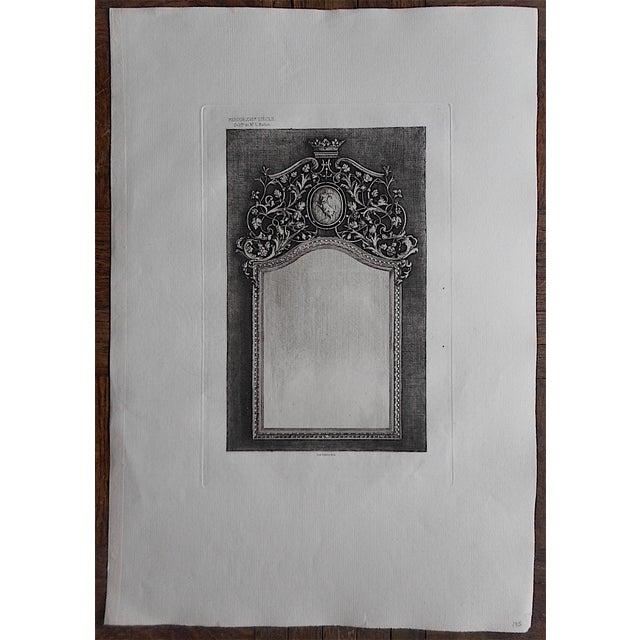 Antique Decor Etching - Image 3 of 3
