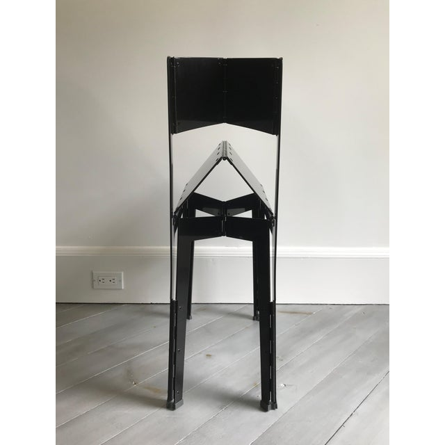 Cappellini Folding Stitch Chair - 2 Available For Sale - Image 4 of 8