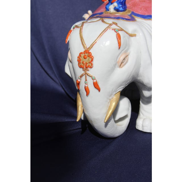 Chinese Porcelain Elephant For Sale - Image 4 of 7
