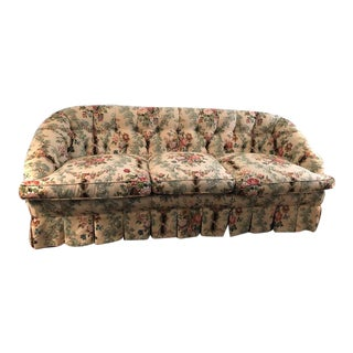 Dapha Custom Made Loveseat in Sanderson Fabric For Sale