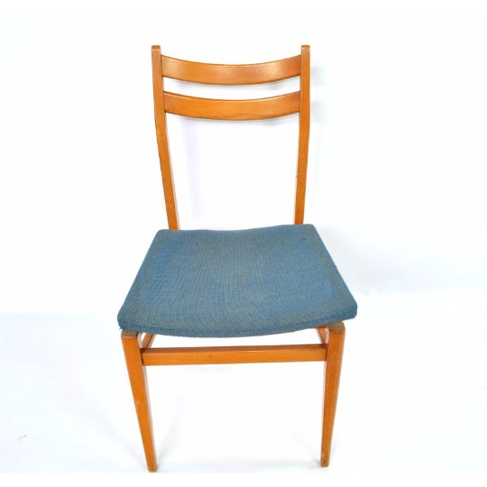 Danish Blonde Modern Chairs - Set of 6 - Image 3 of 6