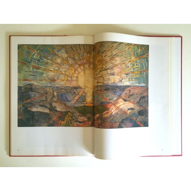 """Expressionism """" Munch """" First Edition Vintage 1990 Expressionist Hardcover Art Book For Sale - Image 3 of 13"""