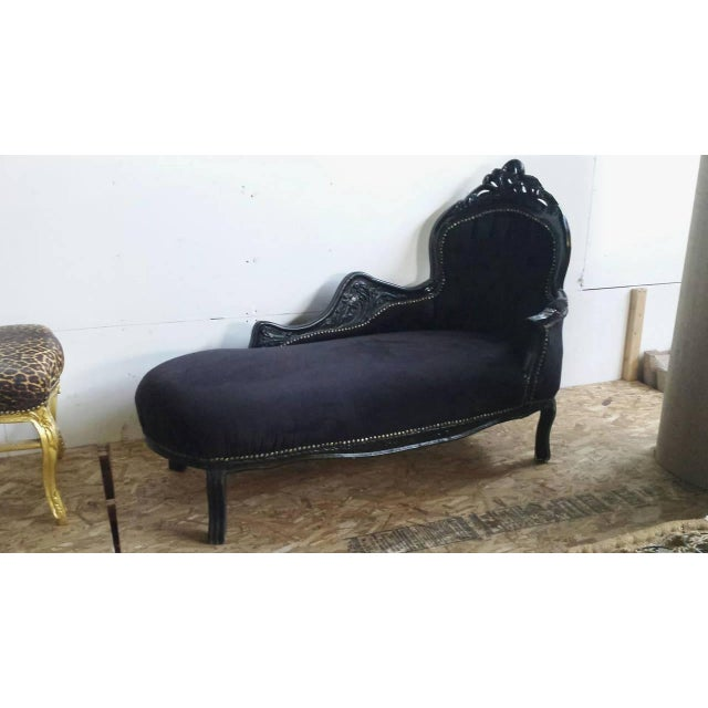 French Louis XV Style Chaise Longue - Image 2 of 4