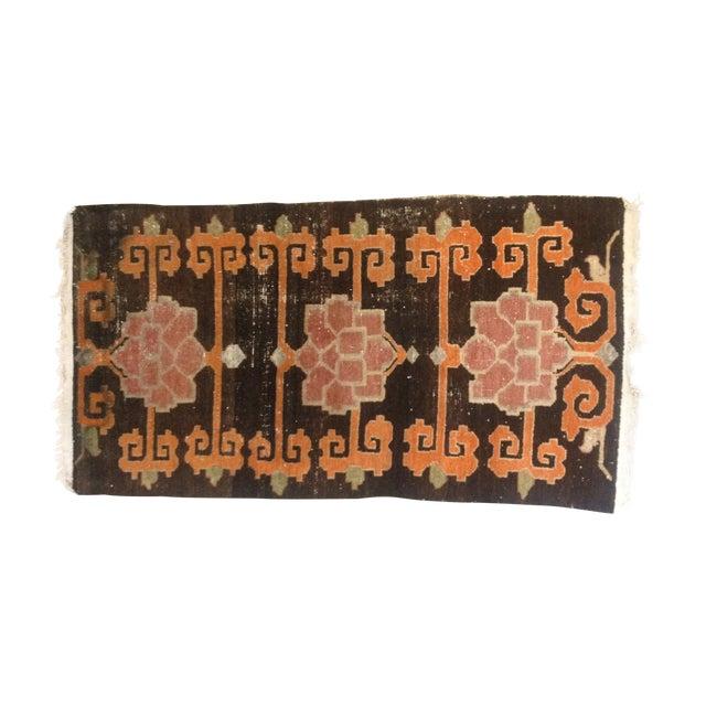 """Tibetan Lotus Pattern Rug - 3'1"""" x 5'9"""" - Image 1 of 7"""