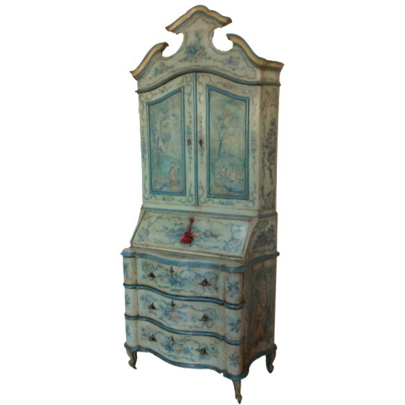 Antique Venetian Secretary - Image 1 of 9
