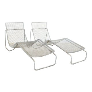 Pair of Niall O'Flynn Chaise Loungers *Ltd. Edition* Ruffian For Sale