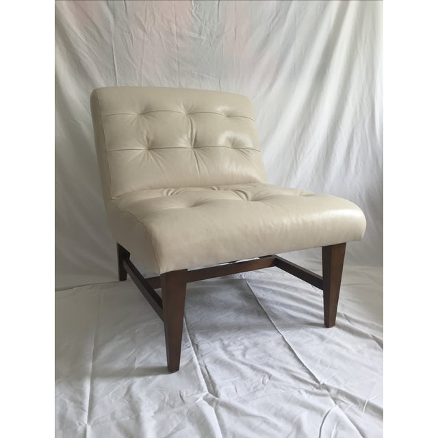 Mitchell Gold & Bob Williams Sergio Leather Chair - Image 3 of 6