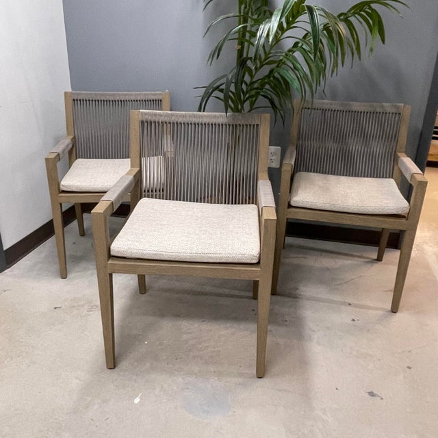 Four Hands Outdoor Rope Chairs Set Of, 4 Hands Outdoor Furniture