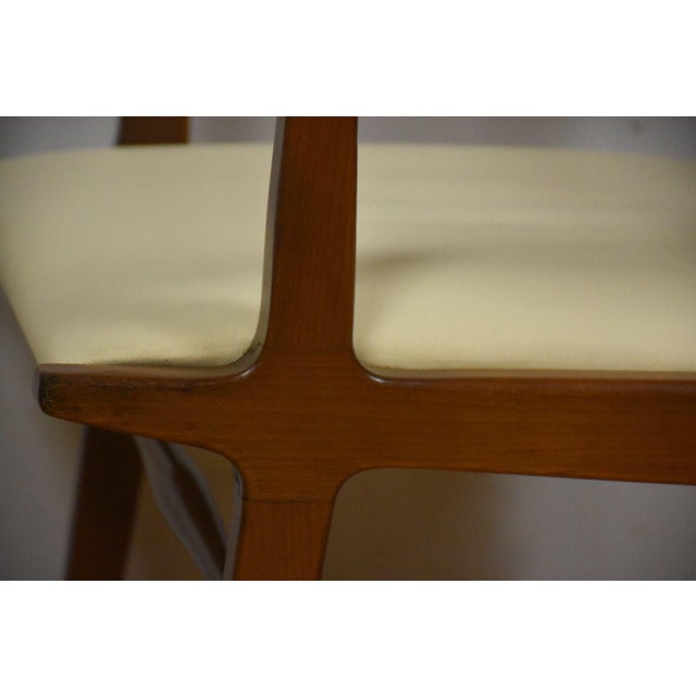Brown Rway White Dining Chairs - Set of 8 For Sale - Image 8 of 10