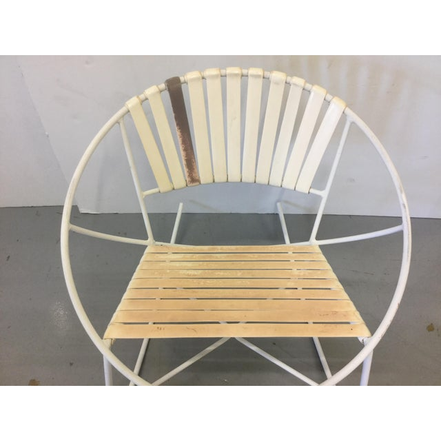 Mid-Century Outdoor Rocking Chair - Image 4 of 8