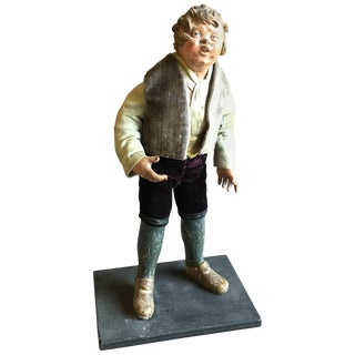 French Provincial Santon Doll, 19th Century For Sale