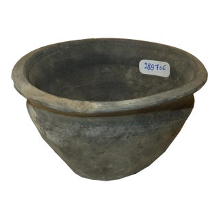 Ancient Chinese Pottery Bowl from Shanxi For Sale