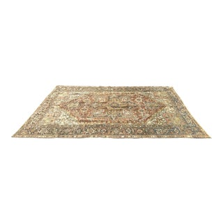 Persian Heriz Antique Rug - 7′2″ × 10′8″