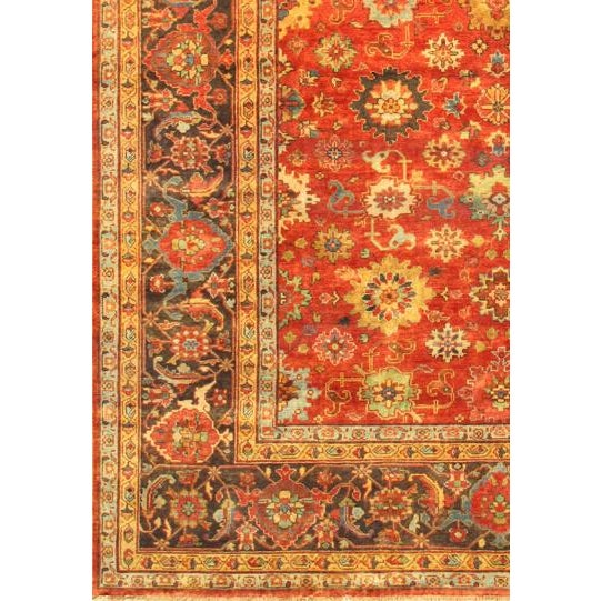 "Mahal Hand-Knotted Wool Rug - 8' X 9'10"" - Image 2 of 2"