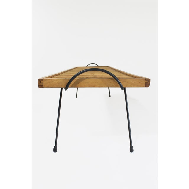 Brown Laverne Originals Mid-Century Dowel Coffee Table For Sale - Image 8 of 11