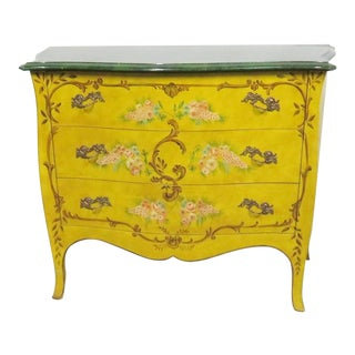 Chelsea House French Style Paint Decorated Commode For Sale