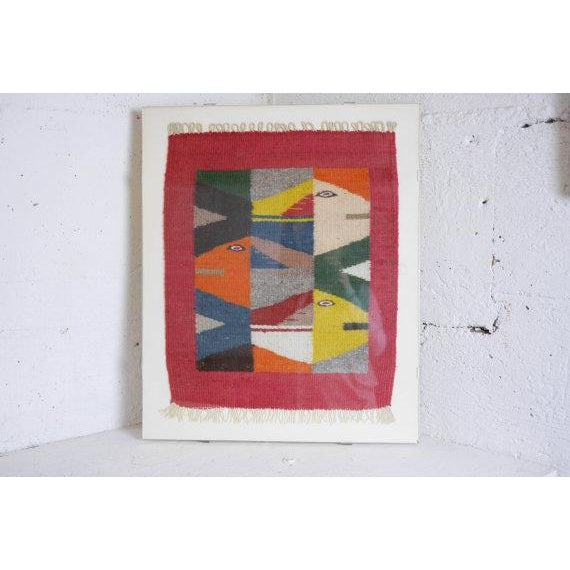 Vintage Oaxaca Fish Tapestry - Image 2 of 6
