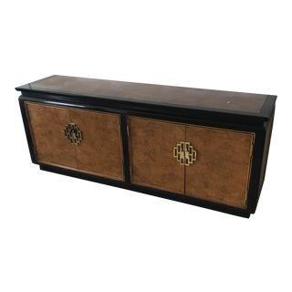 Asian Modern Chin Hua Credenza For Sale