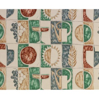 Estate (Summer) Fabric by Gio Ponti For Sale