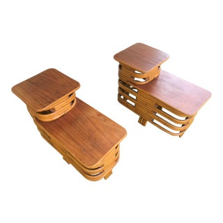 1940s Paul Frankl End Tables - a Pair For Sale