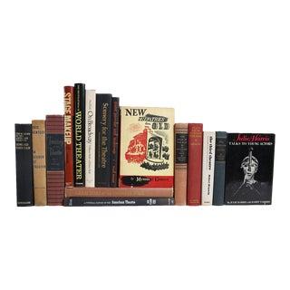 Midcentury Theater Books - Set of 16 Decorative Books