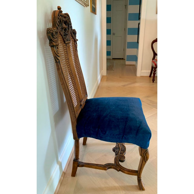 Rococo Early 20th Century Vintage Italian Rococo Chair For Sale - Image 3 of 10