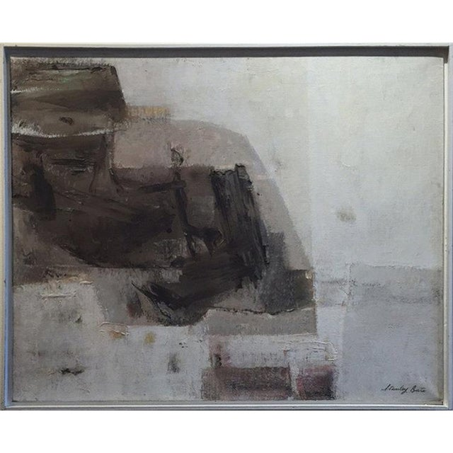 Abstract Stanley Bate, Storm King Painting, Circa 1960 For Sale - Image 3 of 7