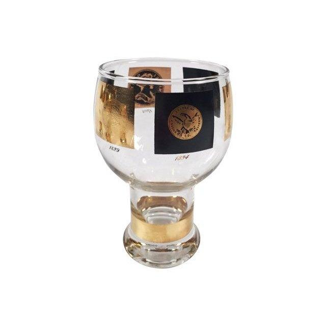 Fostoria Coin Glassware - Set of 8 For Sale - Image 7 of 8