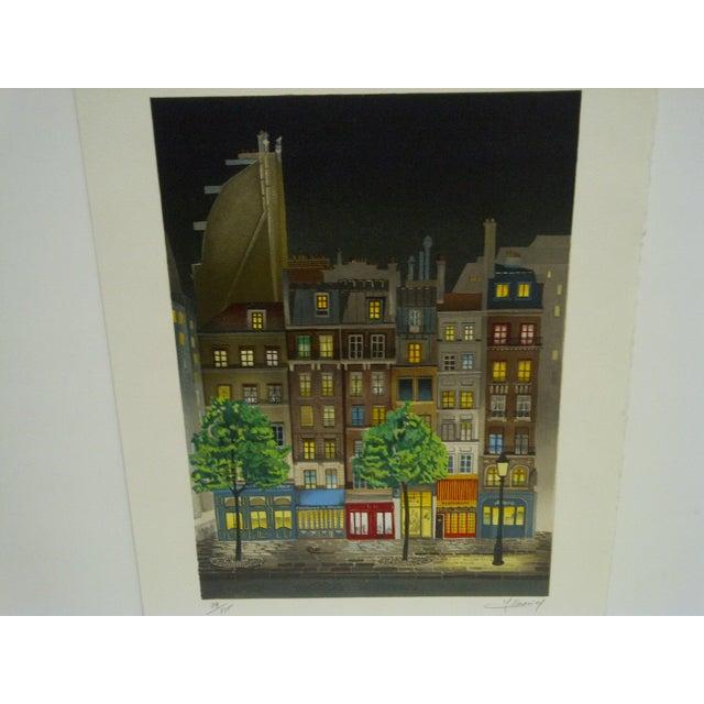 "Mid-Century Modern Le Coindre ""Les Deus Foureles"" Limited Edition Print For Sale - Image 3 of 5"