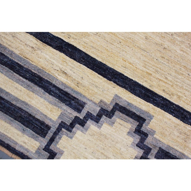 Textile Handmade Navajo Design Rug For Sale - Image 7 of 10