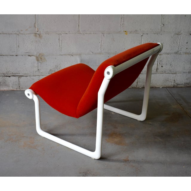 Hannah & Morrison for Knoll Mid Century Modern Sling Lounge Chair For Sale - Image 10 of 13