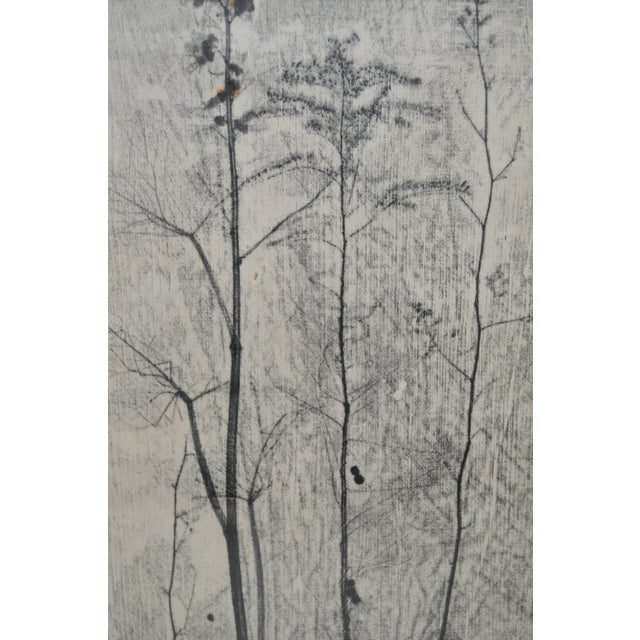 Eugene Larkin Weed Forest No. 1 Woodcut, C.1960 - Image 5 of 6