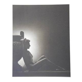 Vintage Nude Parisian Photogravure C.1941 For Sale