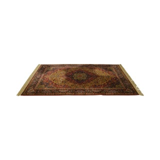 Karastan Medallion Kirman 5.9x9 Area Rug