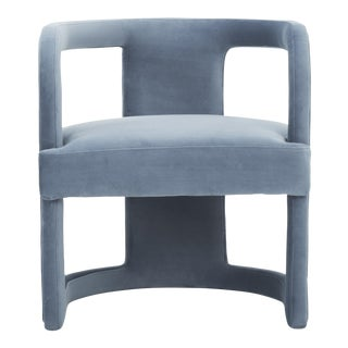 Rory Side Chair in Dust Blue