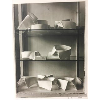 "1998 ""Collars on Glass Shelf"" Photograph For Sale"