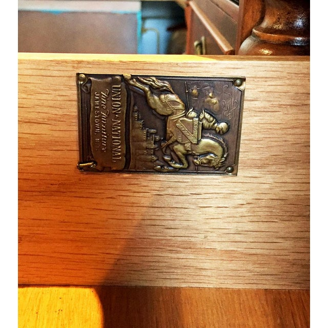 Union National Fine Furnishings Mahogany Buffet For Sale - Image 5 of 7