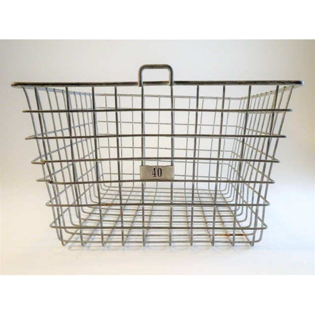 Vintage Wire Locker Baskets - Set of 3 - Image 5 of 11