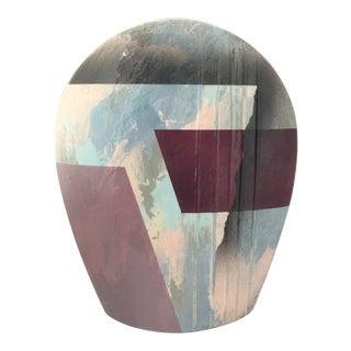 John Bergen Studio for Mikasa Arched Vase For Sale