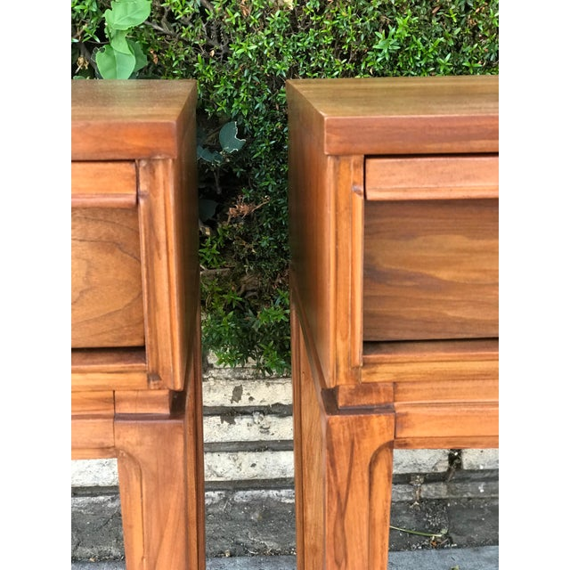Mid-Century Modern Nightstands by Basic Witz For Sale In Los Angeles - Image 6 of 13