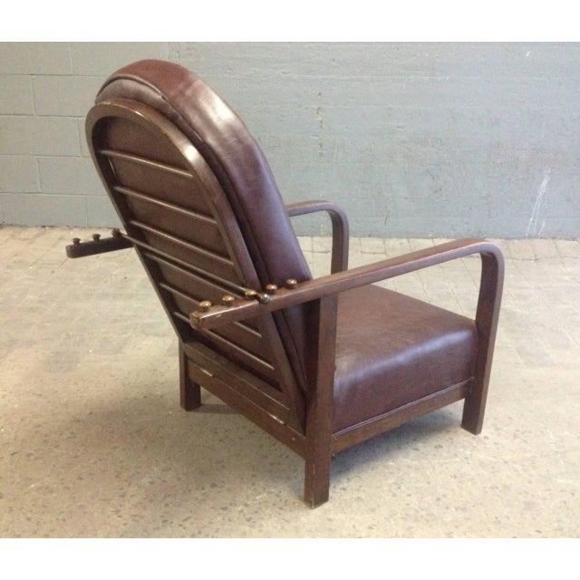 Art Deco Reclining Chair by Josef Hoffmann For Sale - Image 3 of 5