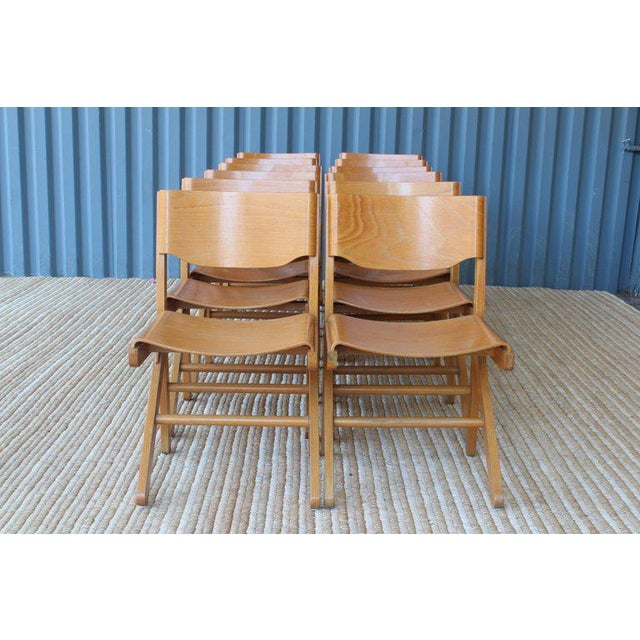 Dining Chairs by Joamin Baumann, France, 1960s For Sale - Image 11 of 13