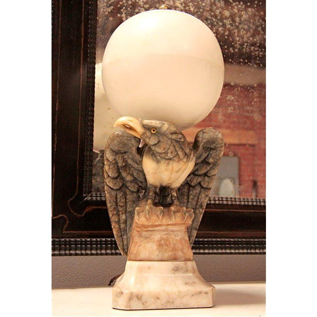 It's a bird...it's a light...it's in marble! The Eagle has landed and he's at ECCOLA!!!