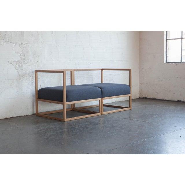 2010s Mid-Century Modern TGM Frame Sofa For Sale - Image 5 of 6