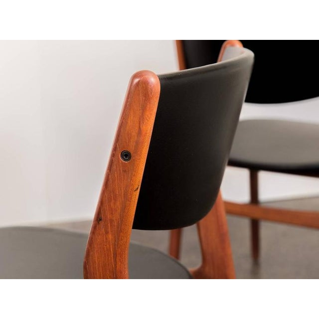 Four Scandinavian Teak Dining Chairs - Image 6 of 7