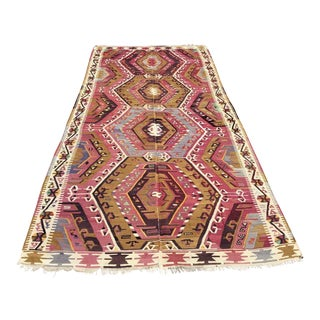 Vintage Rustic Turkish Runner For Sale
